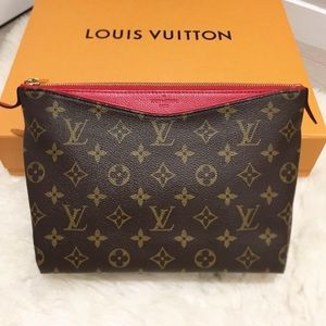 Louis Vuitton Monogram Pallas Beauty Case Cherry